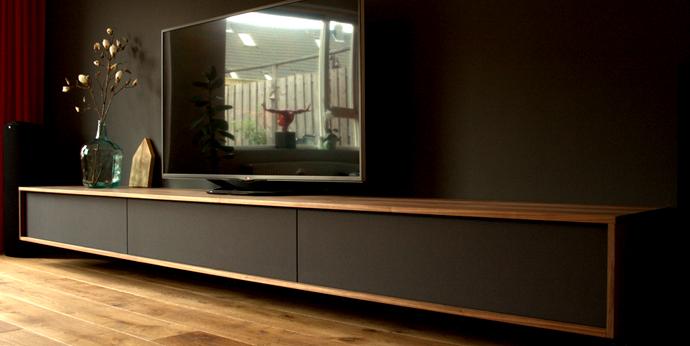 Design Tv Meubel Kast.Tv Kasten Audiomeubels Of Andere Design Meubels Op Maat Gemaakt